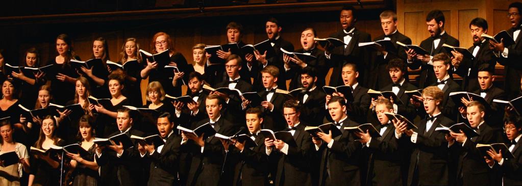 wheaton college men's choir singing christmas songs